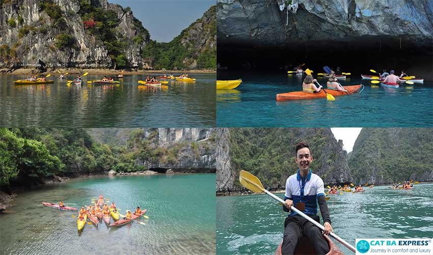 Kayaking Ba Ham