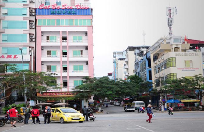 Khách sạn seaview tại Cát Bà