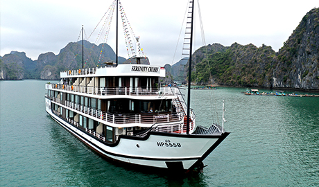 Serenity Cruise - 5 star cruise in Halong and Lan Ha Bay