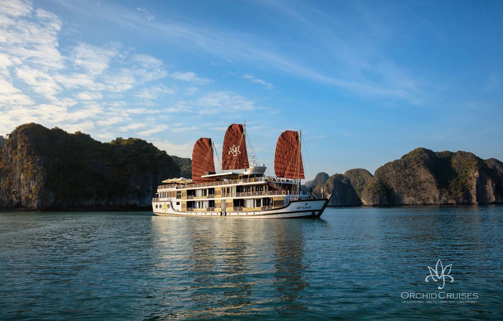 Du thuyền Orchid Cruises - Bông hoa Vịnh Hạ Long
