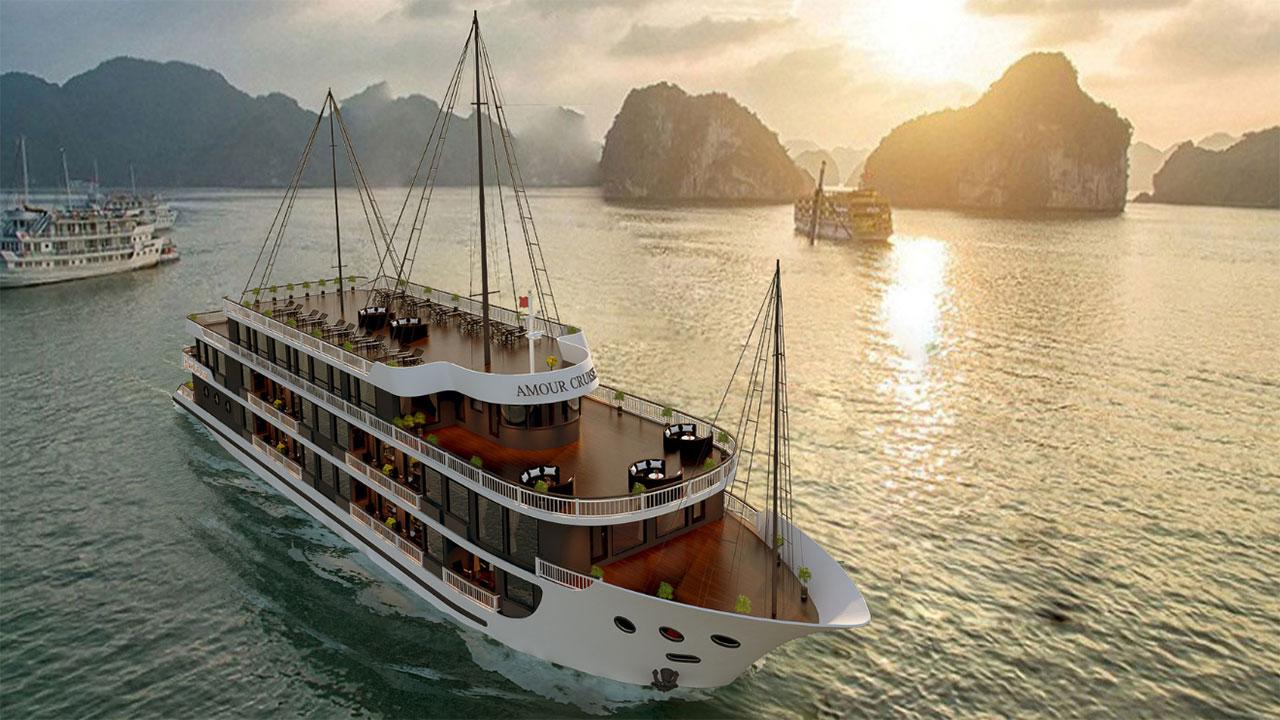Top 10 du thuyền Vịnh Lan Hạ