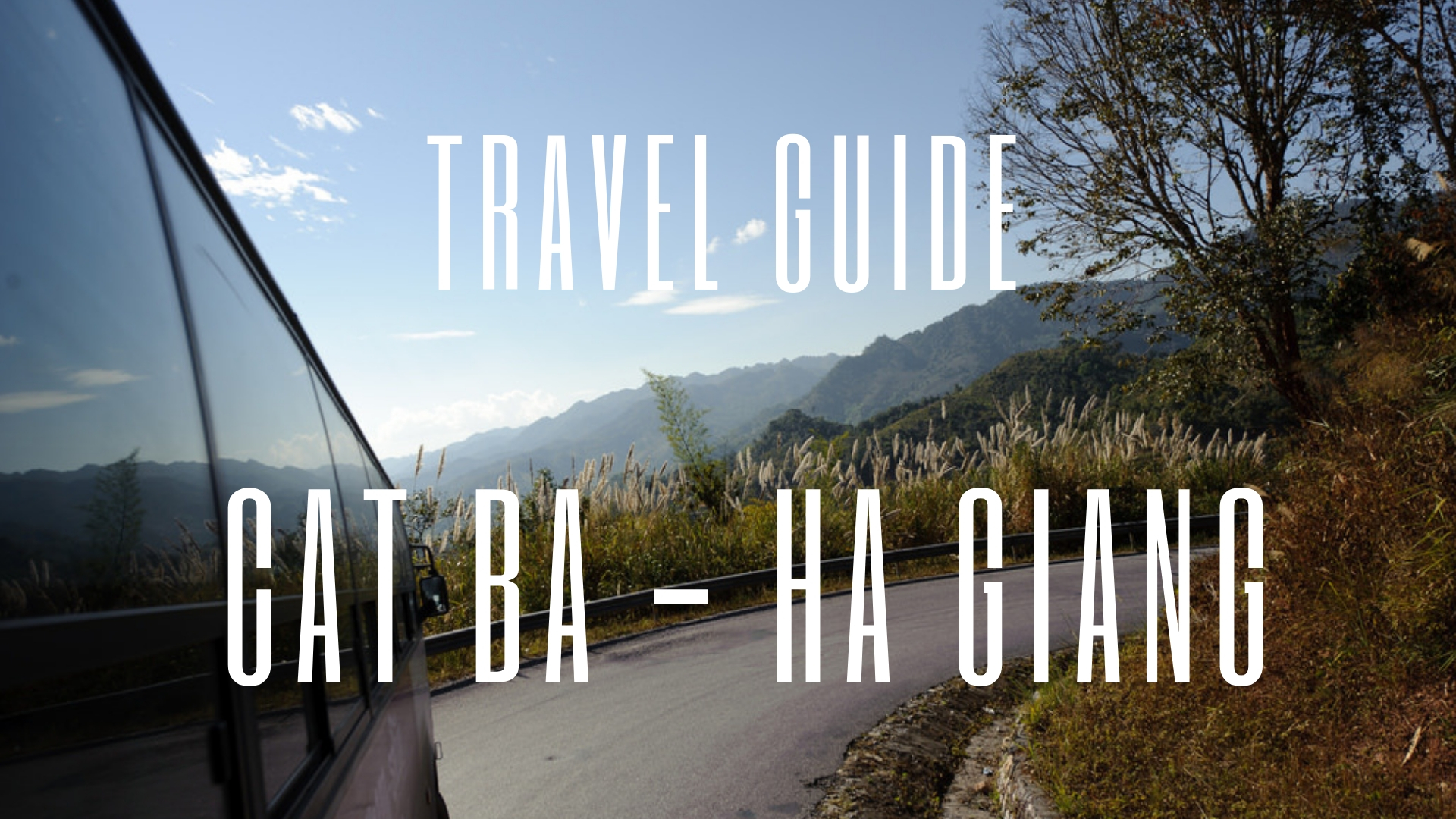 How to get to Ha Giang from Cat Ba