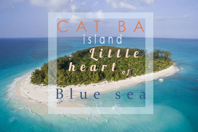 Cat Ba - Little heart of blue sea