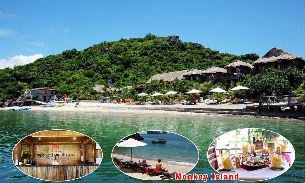 Catba 4 stars hotel: Bungalow Monkey Island (Single Room)