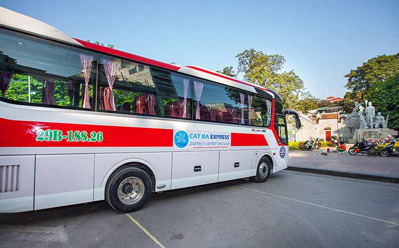 Bus Hanoi to Cat Ba Island 7