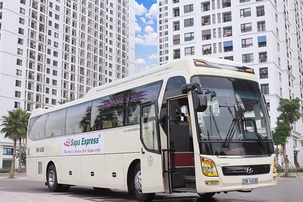 Bus limousine Hanoi to Sapa