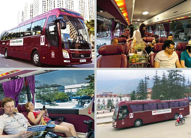 From Hanoi to Sapa by bus 0