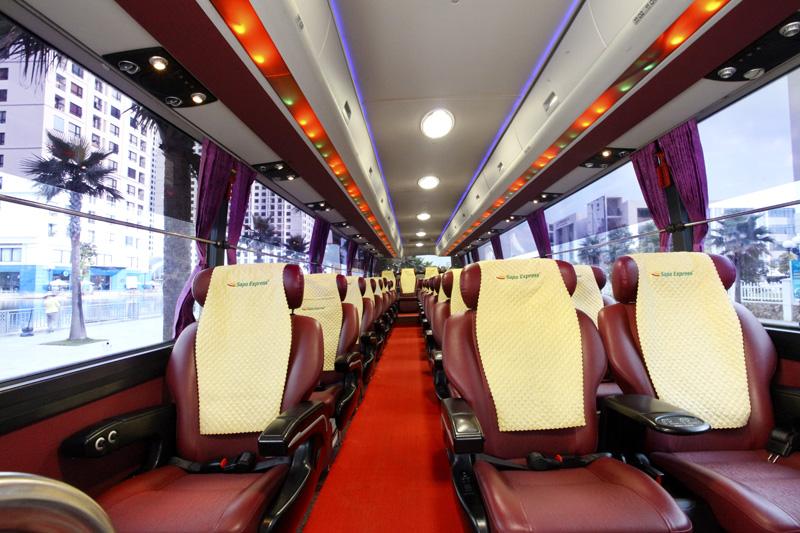 Bus limousine Hanoi to Sapa 0