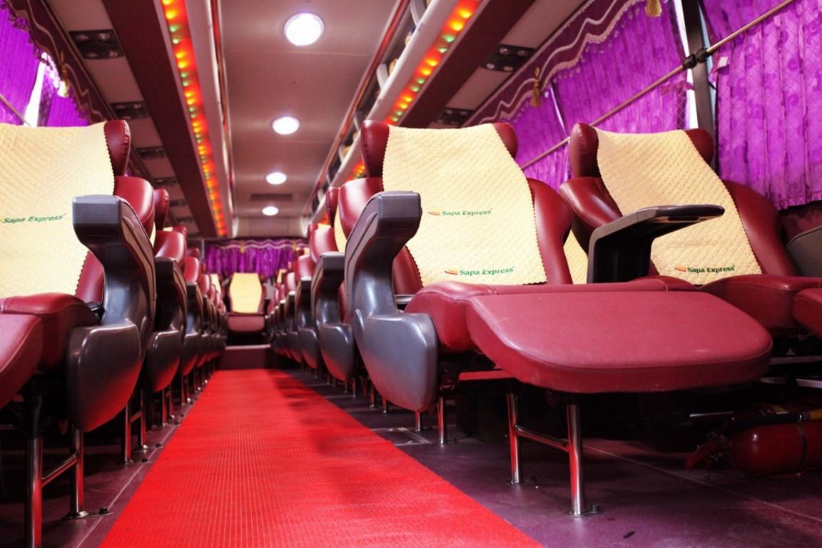 Bus Sapa to Hanoi 1
