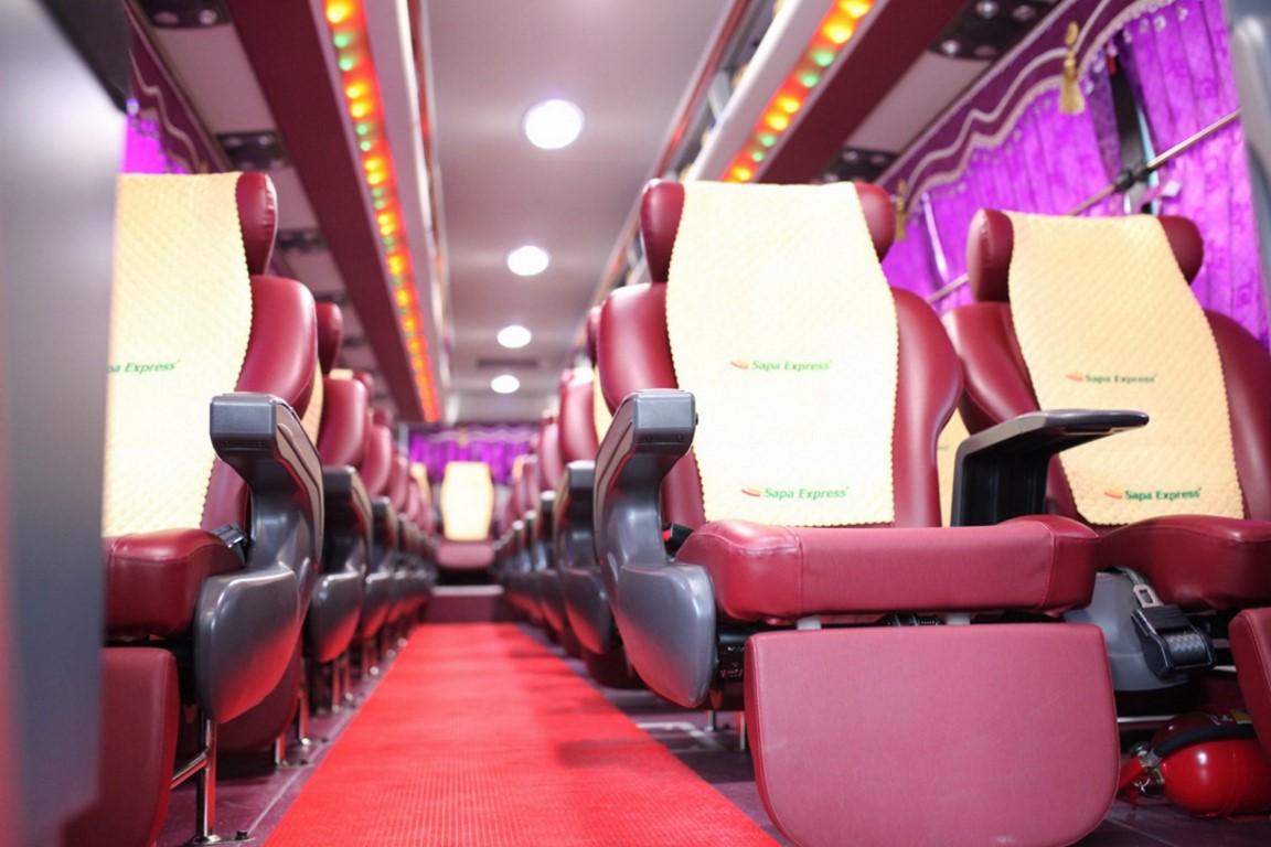 Bus Sapa to Hanoi 0