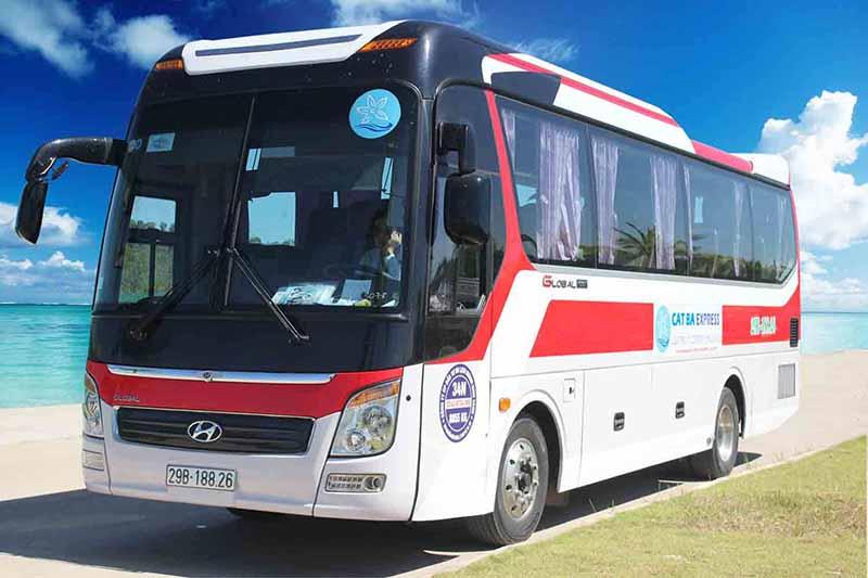 Bus Hanoi to Cat Ba (Round-trip)