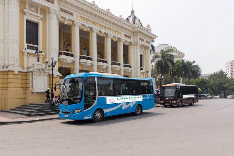 Bus to Cat Ba from Hanoi
