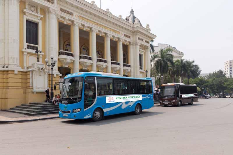 Bus Cat Ba to Hanoi 7