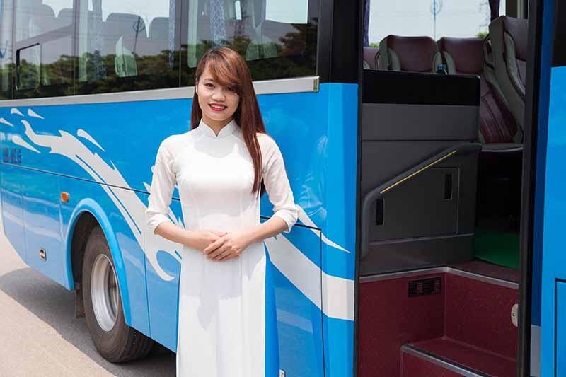Bus Cat Ba to Hanoi 1