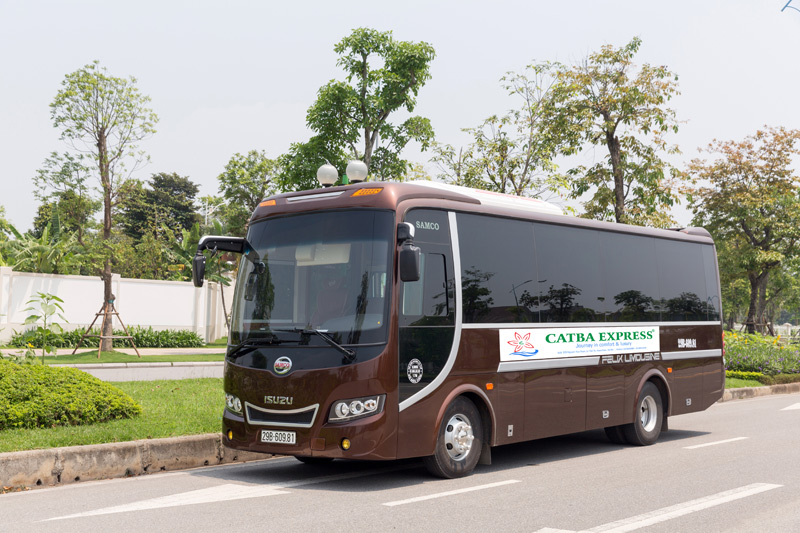 Hanoi - Cat Ba bus (Luxury bus)