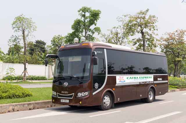 Bus Cat Ba to Ninh Binh ( Cat Ba Express recommendation )​