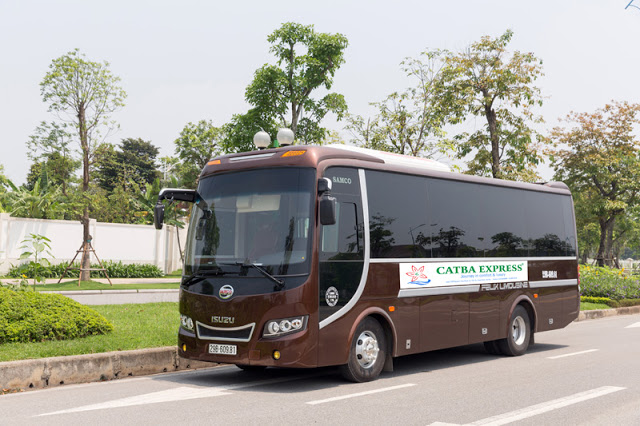 Bus Ninh Binh to Cat Ba (Cat Ba Express recommendation)