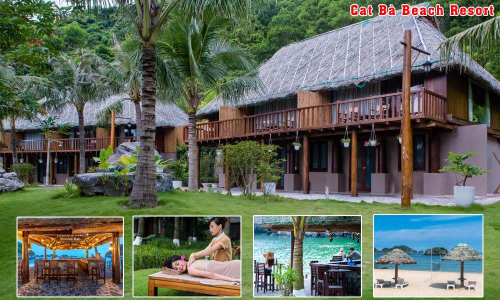 Catba 4 stars hotel: Bungalow Catba Beach Resort (Single Room)