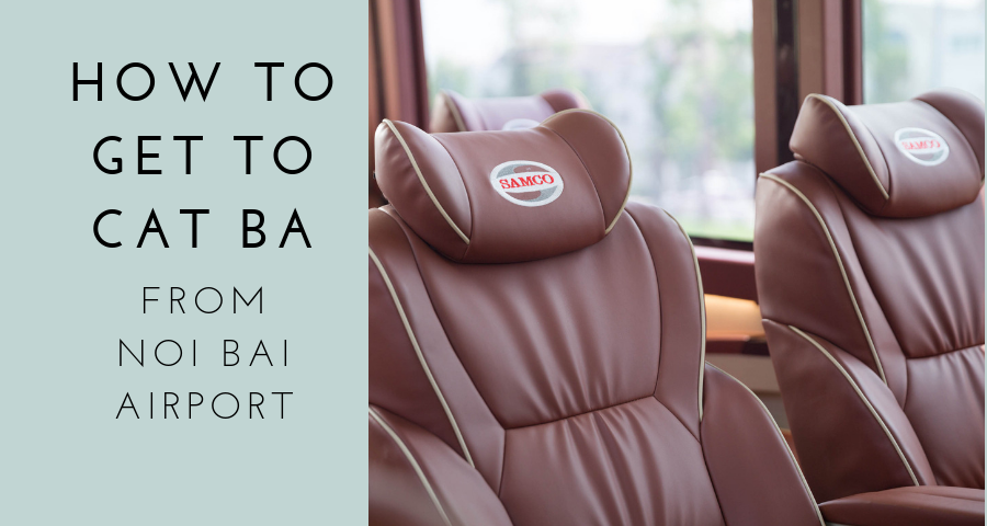 How to get to Cat Ba Island from Noi Bai Airport