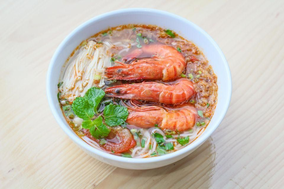Cat Ba Rice Vermicelli with Shrimp