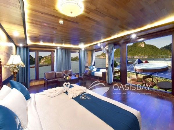 Oasis Bay Party Cruise 2days 1night