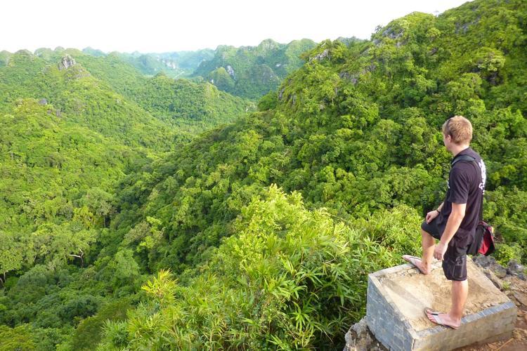 Half day Trekking Cat Ba National Park 1