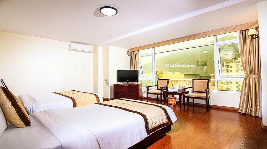 Tour Hạ Long Cát Bà 2 ngày 1 đêm Vịnh Lan Hạ( Ngủ khách sạn ) 2