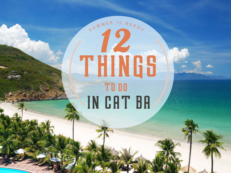 12 Things to do in Cat Ba Island